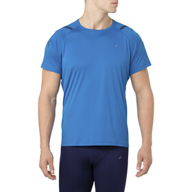 asics Icon Top Manga Corta Hombre, race blue/peacoat